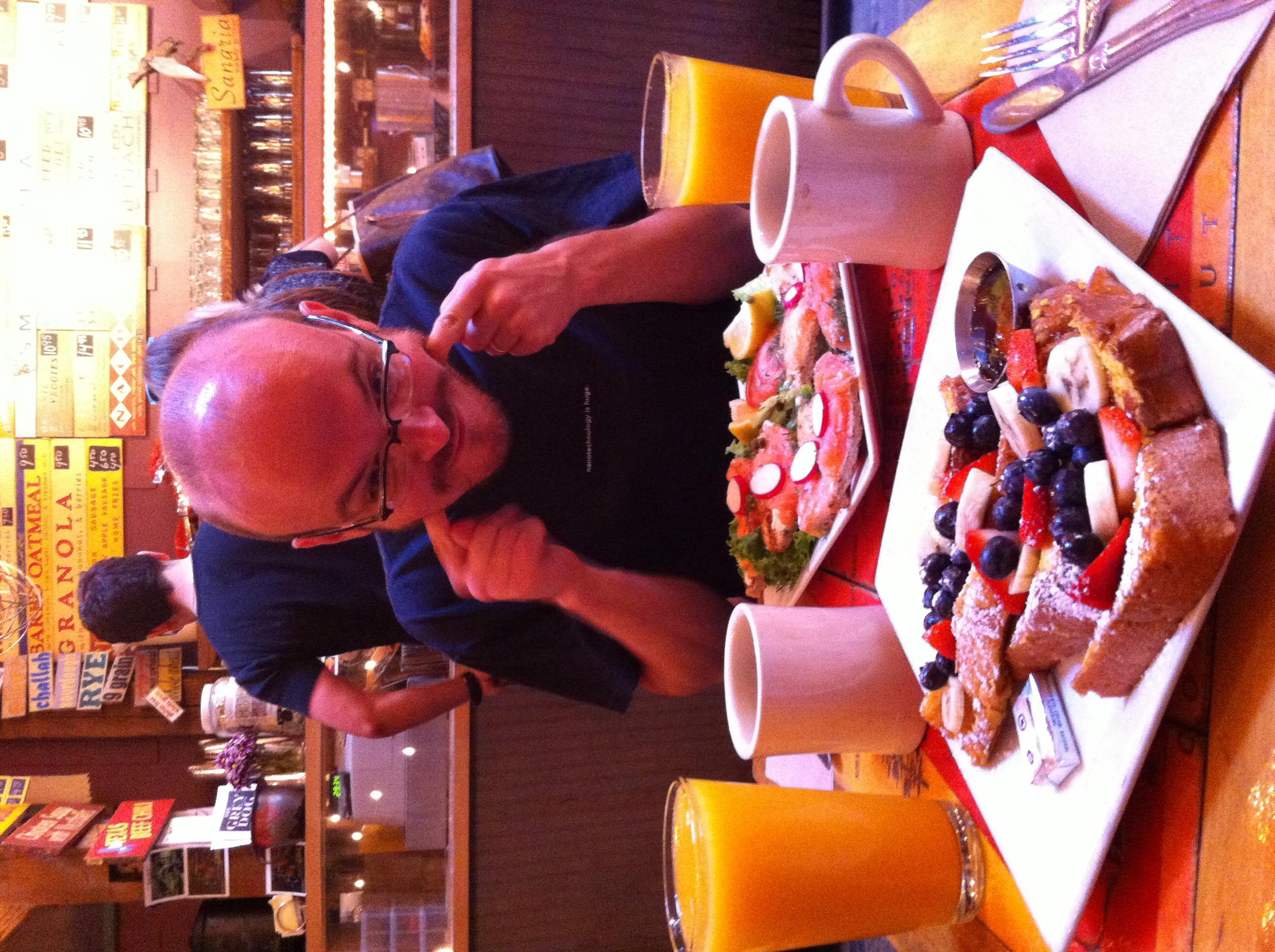 Lauta colazione... GNAM!